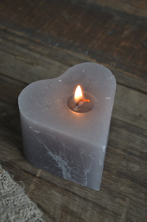Candle Heart S
