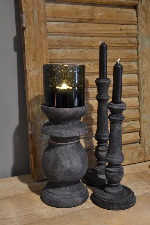 Zwarte houten Balluster  M