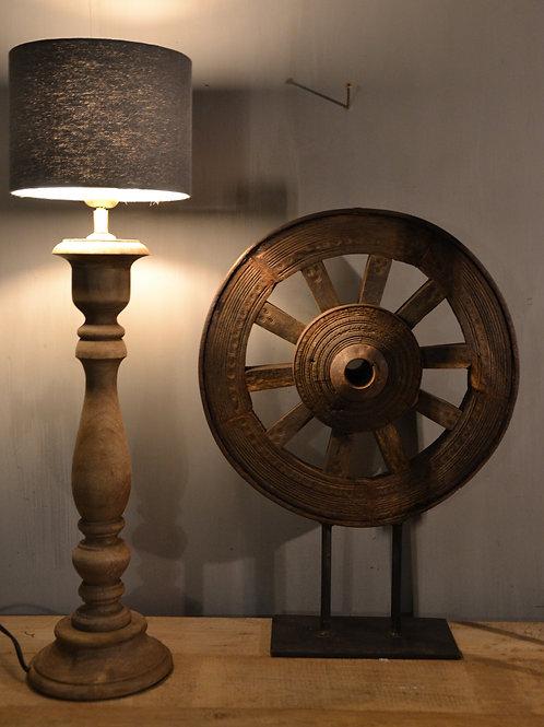 Tafellamp Hout Bruin 50cm