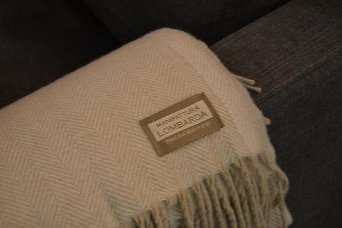 Lombarda plaid – Beige-Visgraad
