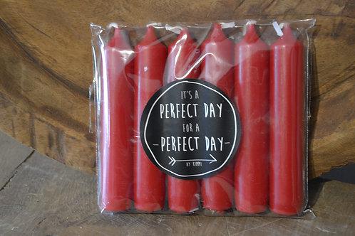 Dinnerkaars 2.2 x 12cm Red