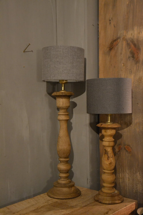 Tafellamp Hout Bruin 35 cm