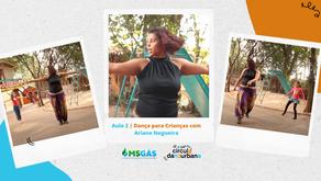 Aula 2 | Danças urbanas com Ariane Nogueira