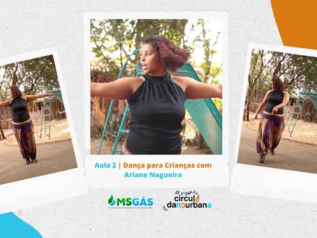 Aula 2   Danças urbanas com Ariane Nogueira