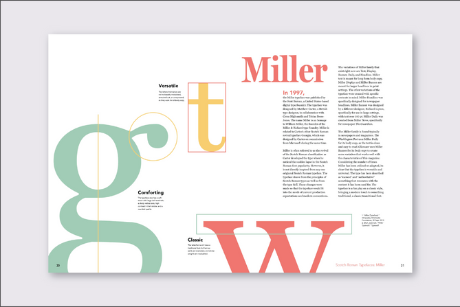 Miller Typeface Analysis