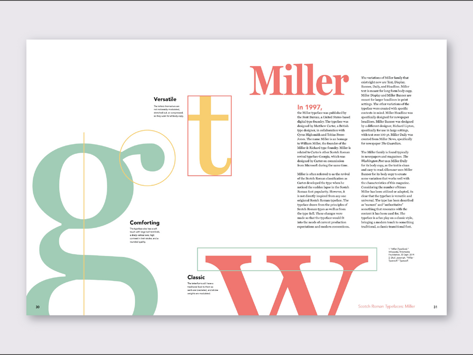 Typeface Analysis