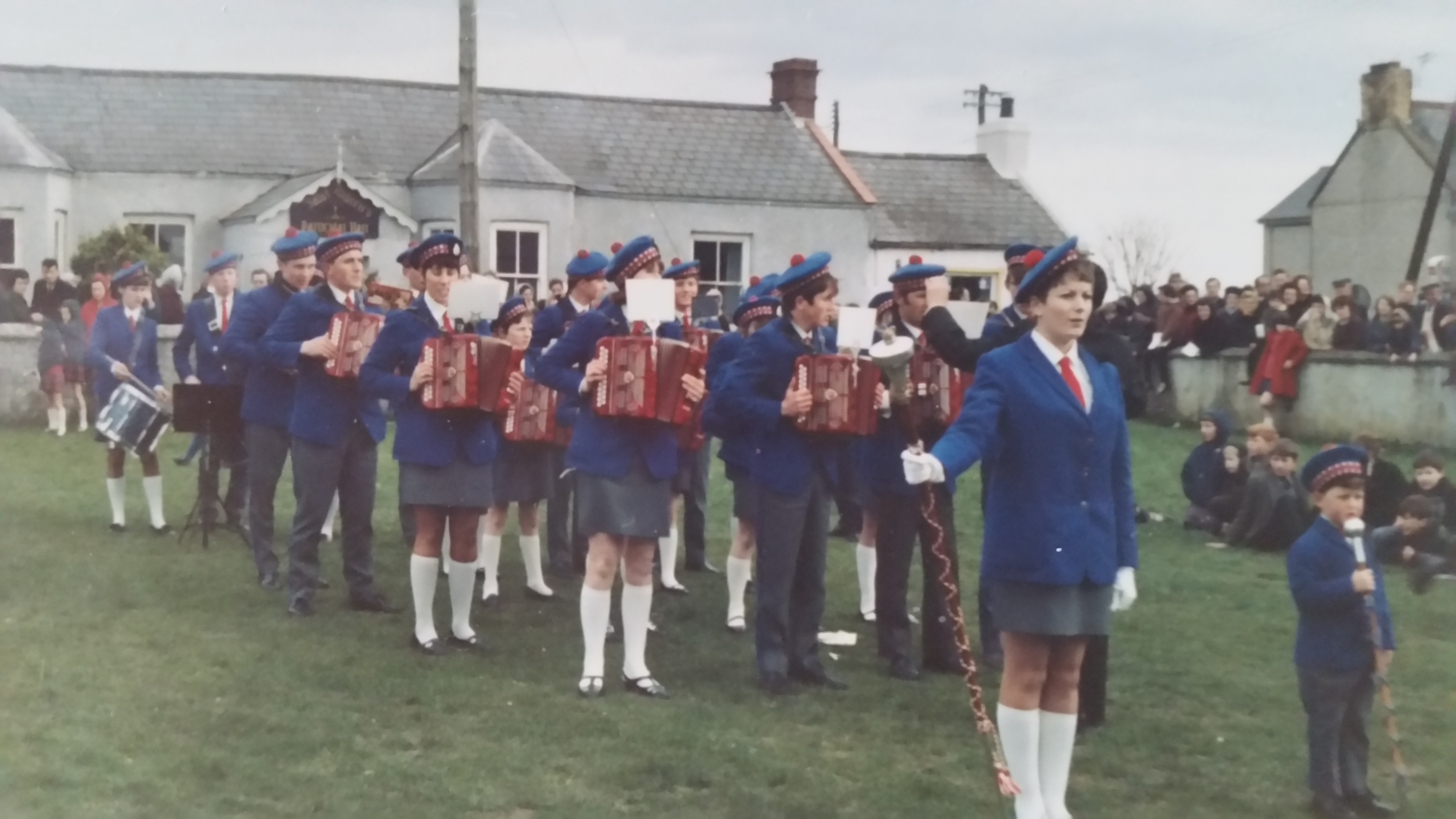 5 Portavogie Accordion Band in 60s/70s