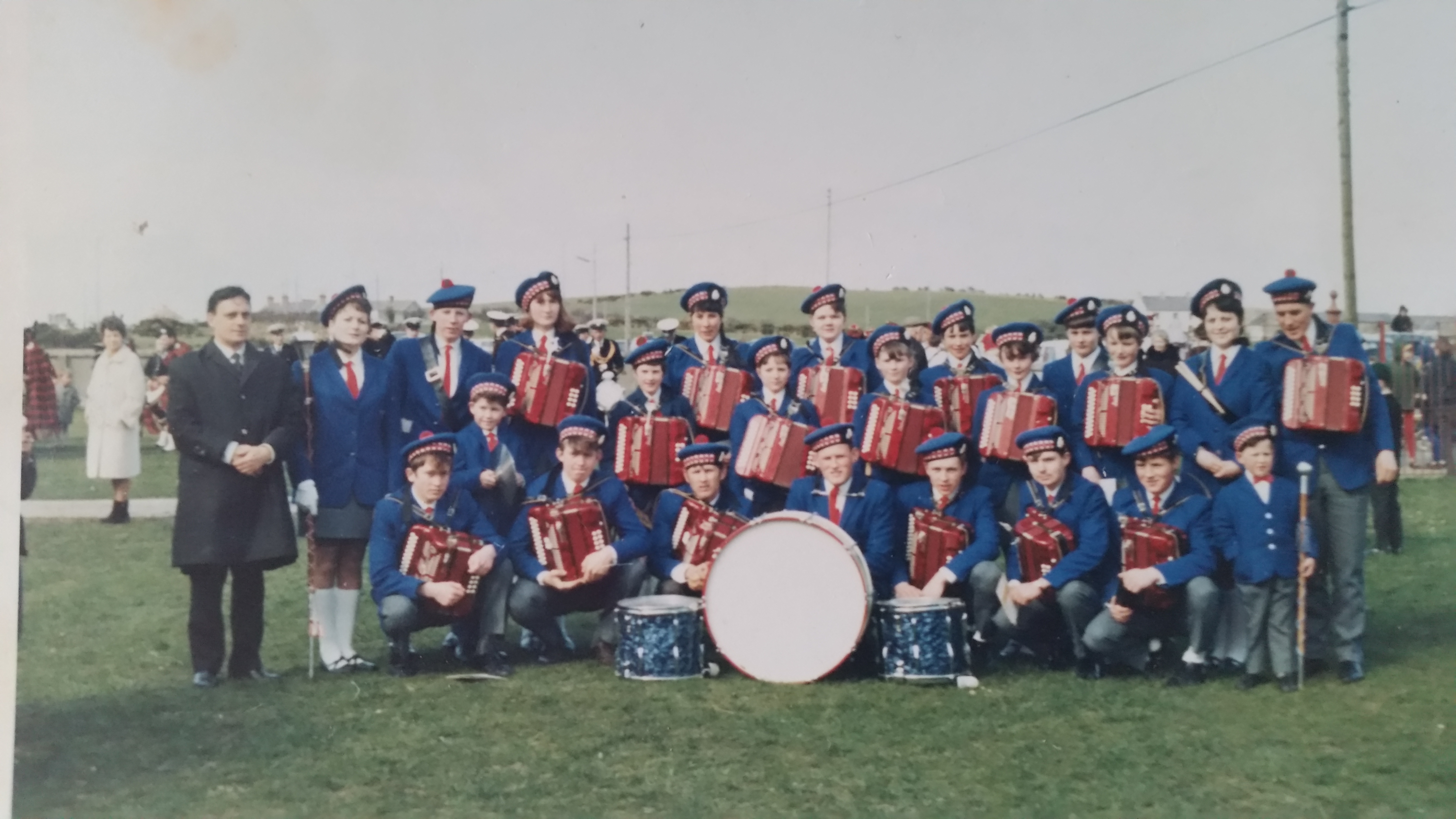 4 Portavogie Accordion Band in 60s/70s