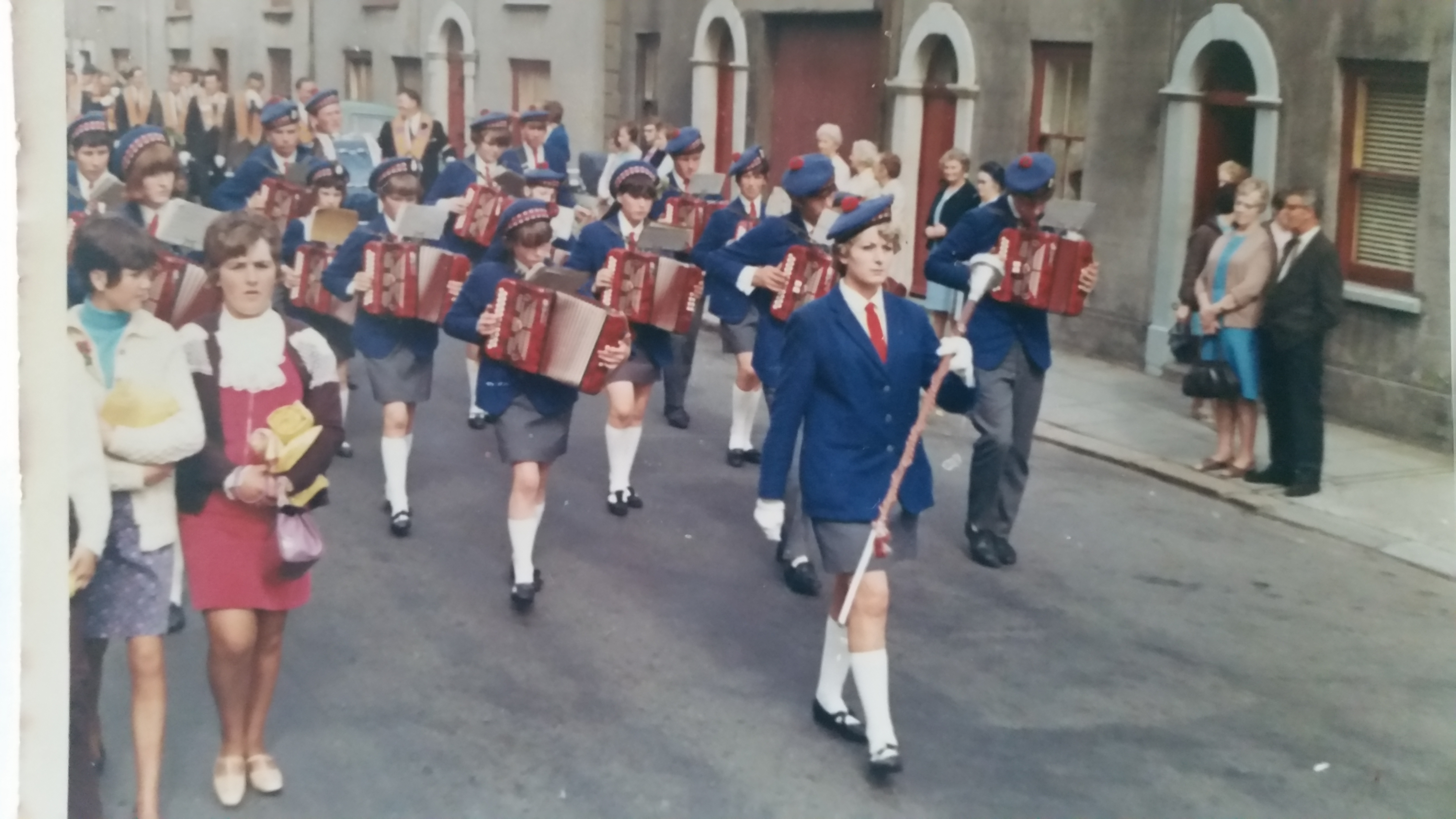 2 Portavogie Accordion Band in 60s/70s