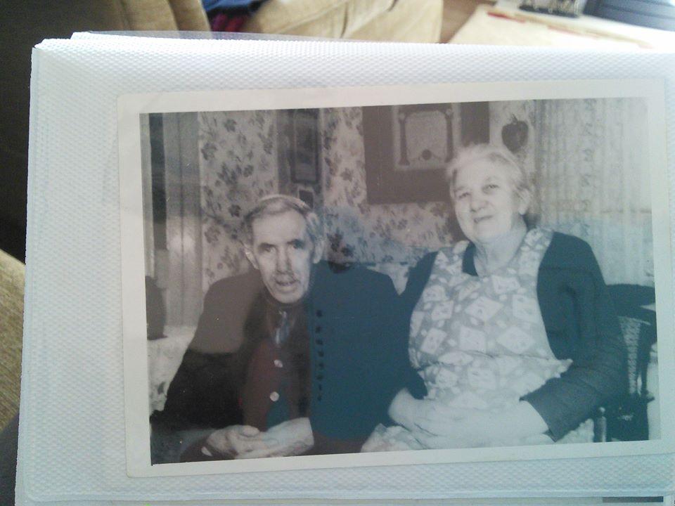Granny and Granda Orr, 1 Main Road. 1960s.jpg