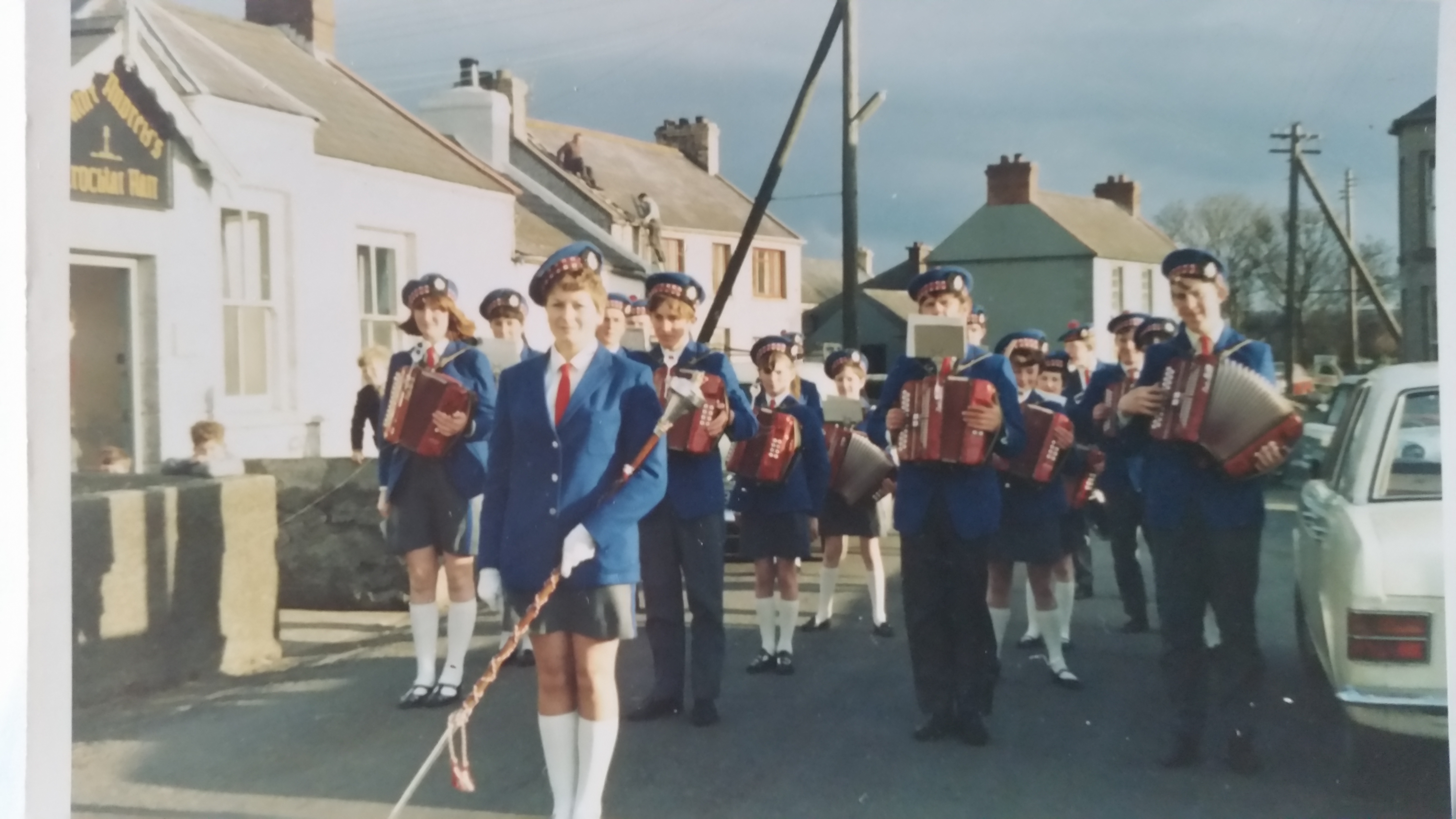3 Portavogie Accordion Band in 60s/70s