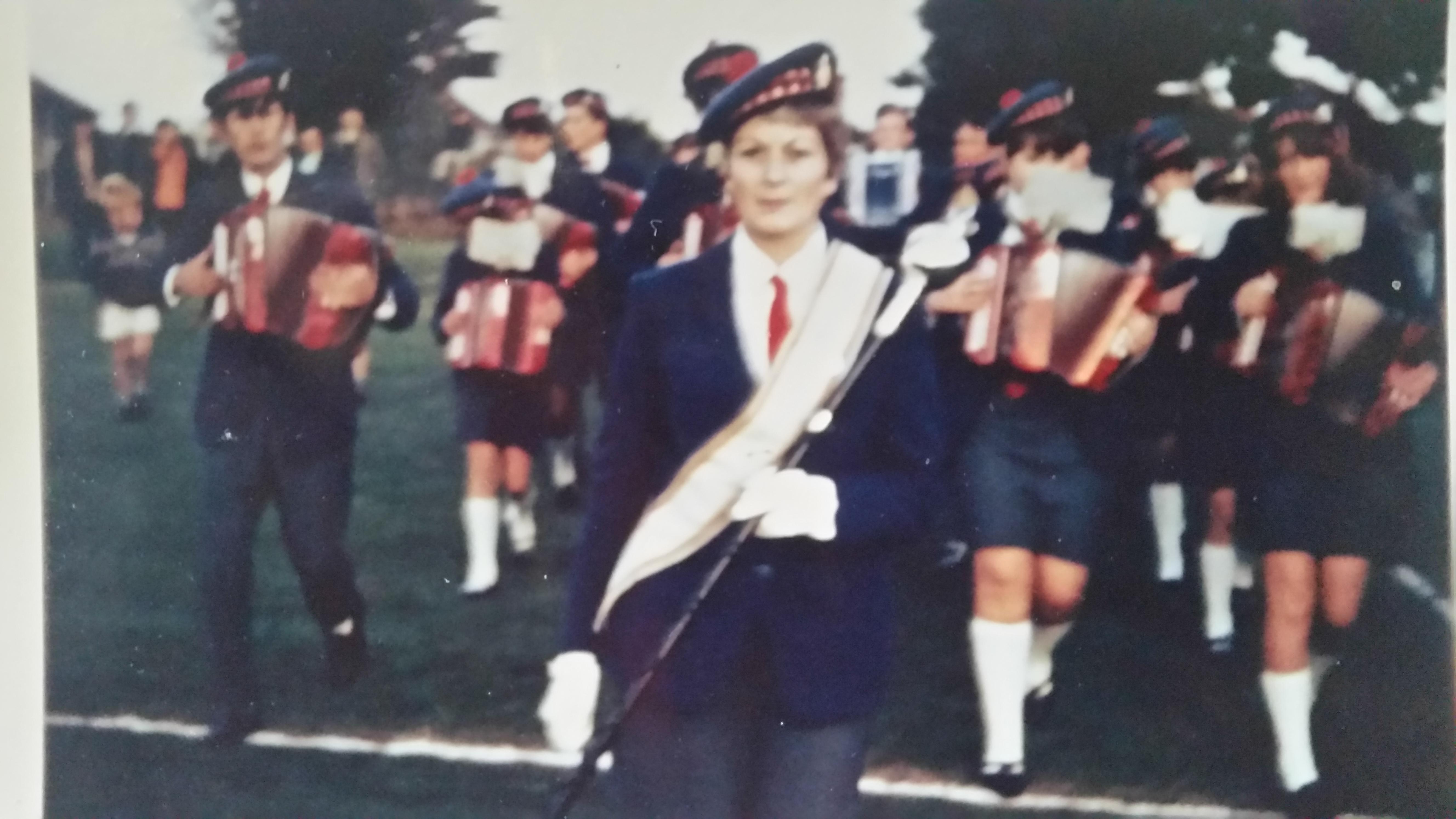 1 Drum Major Margaret Love now McClarnon.