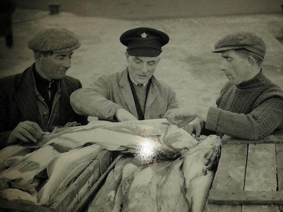 Crew of Essie Orr in Ardglass 1951