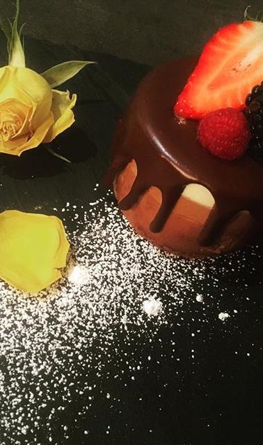 今日のおもてなしご飯デザートはこれ。_#patisserie #3chocolat #dessert #パティスリー#デザート