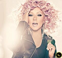 Christina Aguilera-Lotus CD cover.