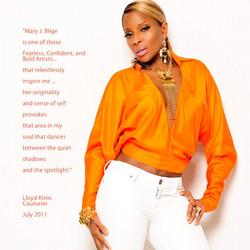 Mary J Blige. Angeleno Magazine