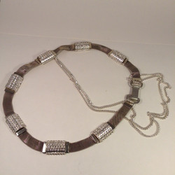Belt Up. Tube & Chain belt