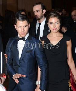 Nick Jonas girlfriend Olivia Culpo .