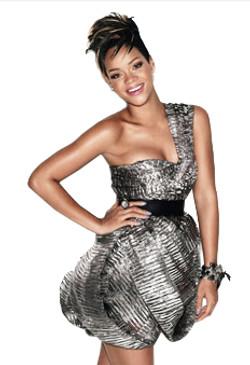 Glamour Magazine , US. Rhianna.