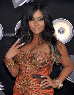 Nicole  Snooki MTV Awards.