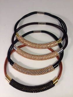 Massai Mara choker necklaces.