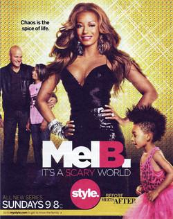 Mel B. Its a Scary World Show.