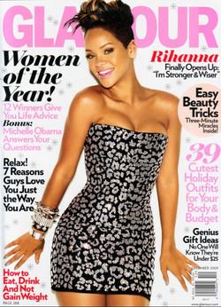Glamour Magazine USA .Rhianna