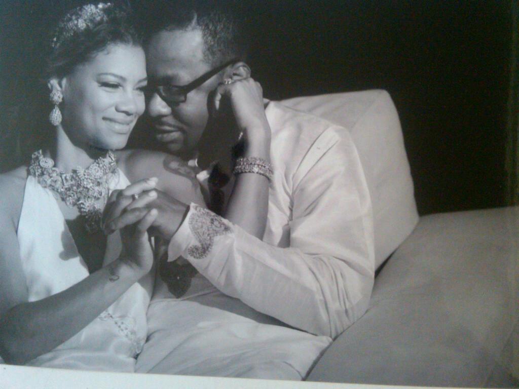 Bobby Brown &Alicia Ethridge wedding