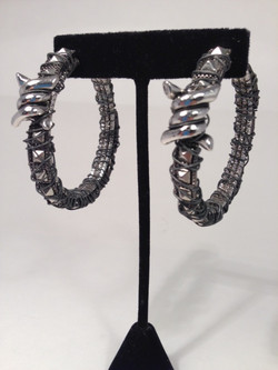 Barbed wire hoops