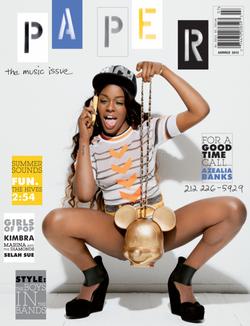 AzealiaBanks.PAPER Magazine.