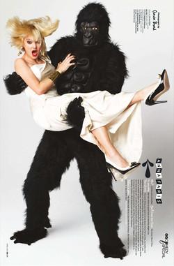 GQ Magazine ,UK.Anna Faris .