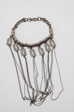 NE-RS .Razor Sharp Necklace.
