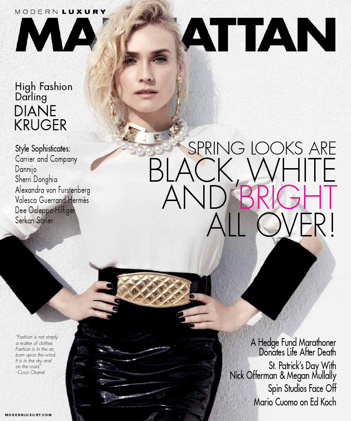Modern Luxury Manhatten.Diane Kruger