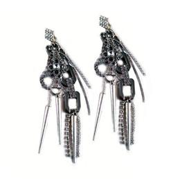 'Chain Lynx' Earrings #ERCLX1601.