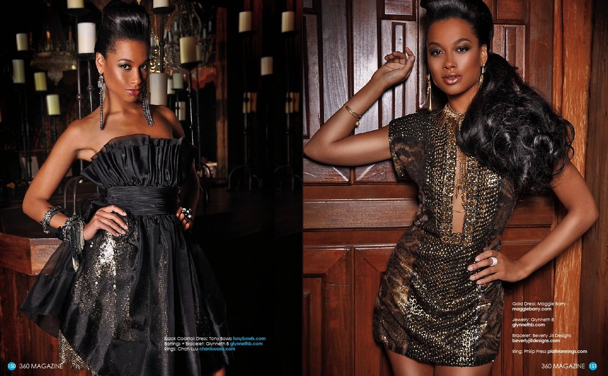 360 Magazine. Miss Ghana.