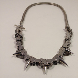 Biker Chick necklace