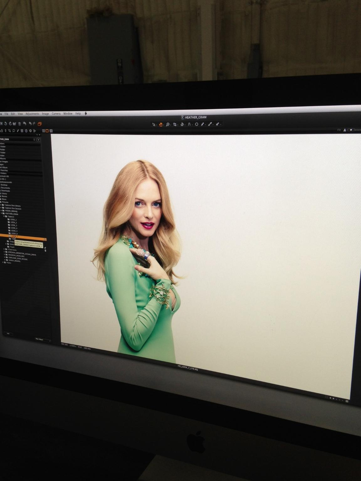 Heather Graham. Vegas magazine.