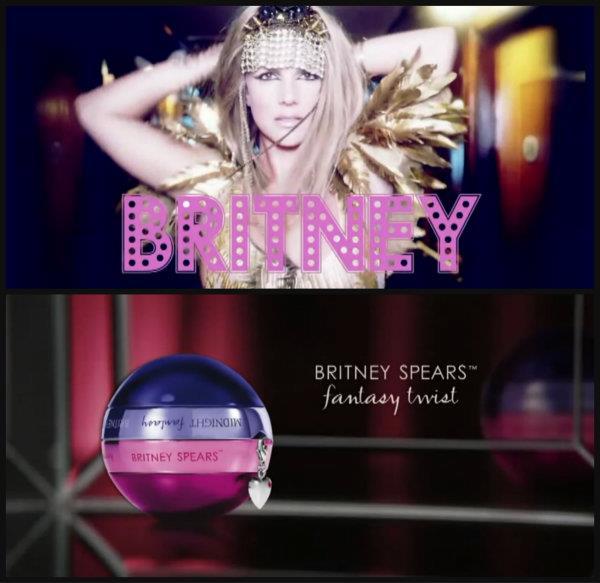 Britney. Fantasy Twist Perfume.