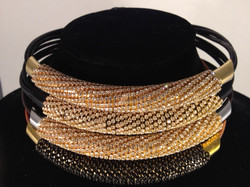 Massai Mara necklace. Stacked