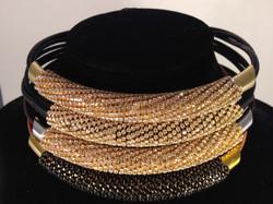 Massai Mara necklace. Stacked