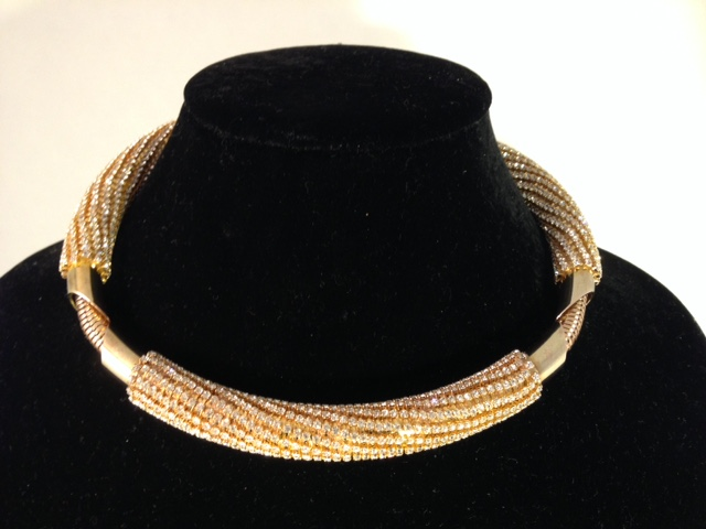 Circle of Life necklace. Gold/Gold