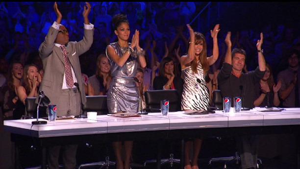 X factor. Judge Nicole Scherzinger.