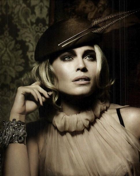 Vanity Fair . Rebecca Romijn.