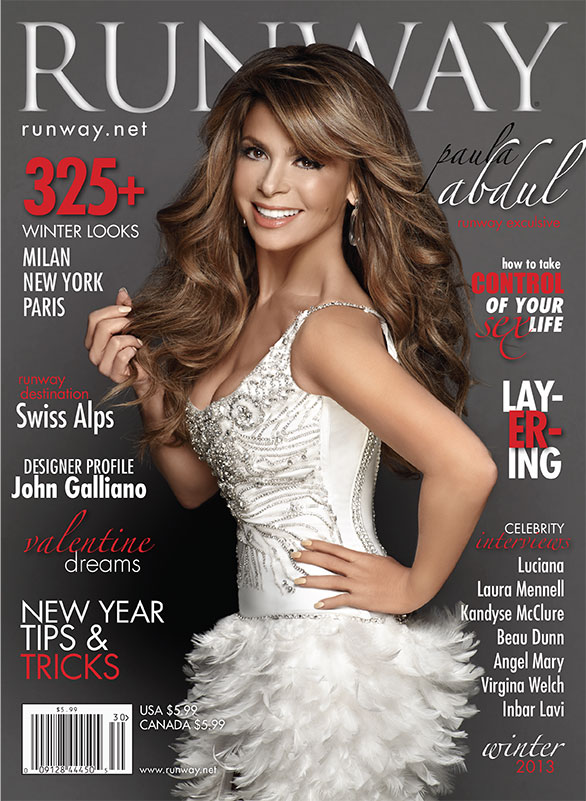 RunwayMagazine. Paula Abdul.