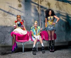 STOOSHE Girls, UK Band.