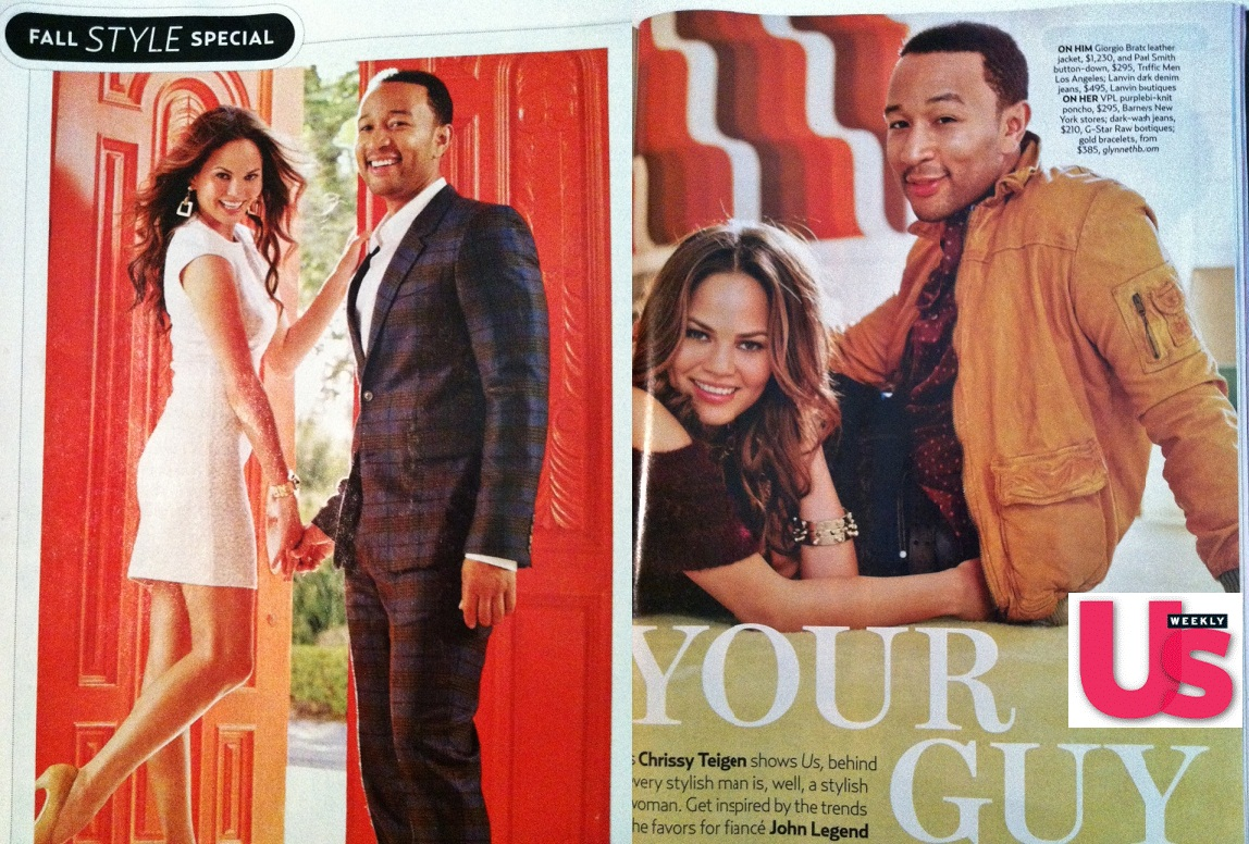 Chrissy Teigen . US weekly