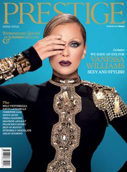 Prestige Magazine. Vanessa Williams