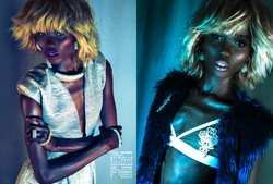 HHW Style feature. Circle of Life necklace/Hoopla earrings/ Bovver Girl knuckle