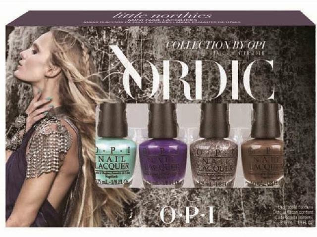 OPI 2014 Nordic.Mini-Nail-Lacquers.