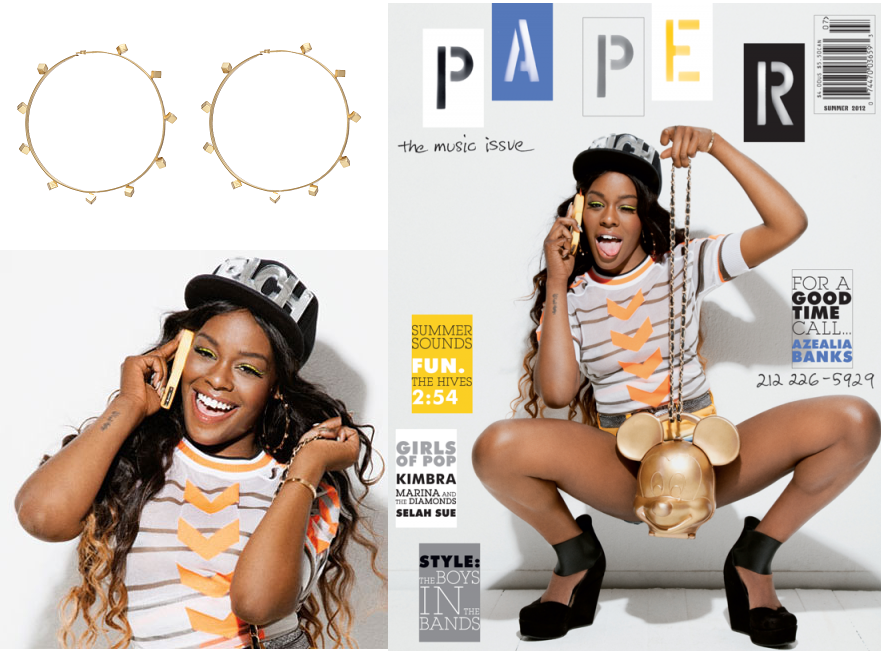 Azealia Banks. PAPER MAG COVER .